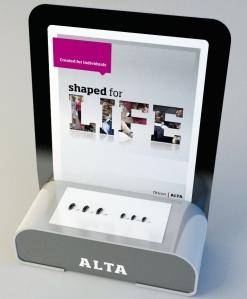 7512-770 Oticon Alta P.O.S. display - straight back version (5)