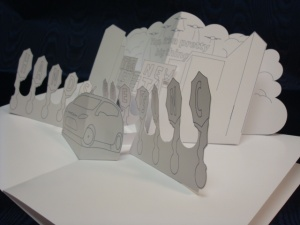 Team Detroit Pop-up Book  (3)
